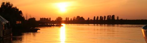 La ricchezza idrica del fiume Po